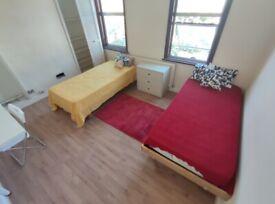 HUGE TWIN ROOM IN GREEN LANES/ TURNPIKE LANE - LIVING ROOM & GARDEN