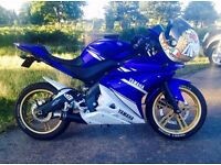 2010 Yamaha R125-Lots of Extras *Must See*