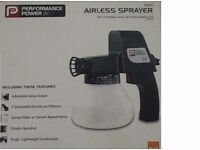 B&Q Airless Paint Sprayer (never been used)