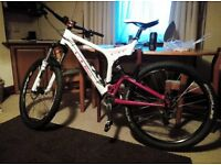 full suspension mountain bike 1100 o.n.o