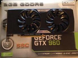 EVGA GEFORCE GTX 960 SSC 2GB