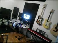 Recording Studio Services (small fees)