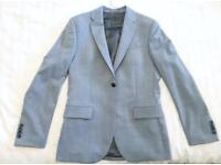 Reiss - Men's baby blue 3 piece suit.