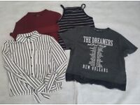 Girls New Look clothes age 13 to 15 Vest Top Tshirt jumper shirt etc