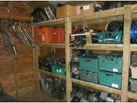 Loads of used parts in stock for pit bikes and mini motos. Drop us a message with inquiries anytime.