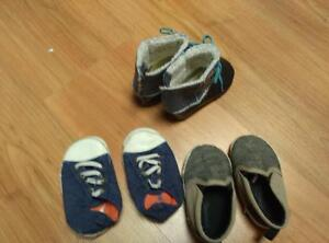 Toddler boy shoes - size 4 & 5