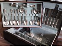 72 PIECE ARTHUR PRICE SILVER PLATED CANTEEN OF CUTLERY