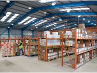 7 BAYS REDIRACK INDUSTRIAL WAREHOUSE UPRIGHT FRAMES & BEAMS PALLET WAREHOUSE RACKING 2.5 Mtr HIGH