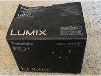 Panasonic LUMIX Digital Camera DMC-FZ7. Preowned but in good condition.