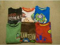 Bundle of boys t-shirts size 4-5