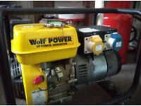 Petrol generator 2200W 110V-230V + 10L of petrol
