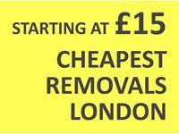 CHEAPEST HOUNSLOW Man & Van. Starting £12! Save 80%! UK Govt. approved.