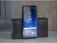 Samsung Galaxy S8 Plus mint cond. unlocked