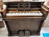 Antique Harmonium in need of some loving attention to mechanism