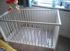 IKEA GULLIVER cot and matress