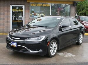 2015 Chrysler 200 C 3.6L LEATHER AND FULL LOAD