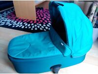 Mamas&Papas Turquoise Armadillo Flip Carrycot (chassis not included)