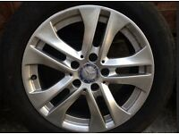 4x Mercedes Benz 16 inch Alloy Wheels Used, Excellent Condition 2013