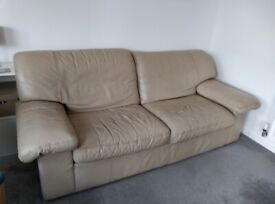 Free Leather Sofa and Armchair