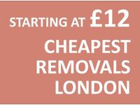 CHEAPEST ACTON Man & Van. Starting £12! Save 80%! UK Govt. approved.