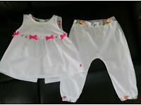 Ted Baker Baby Baker Girls suit 12-18 months, like new!