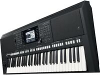 YAMAHA PSR-S750 Keyboard, Music Rest, user manual (new condition)