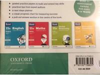 11+ Bond sealed pack of 4 books age 8-9