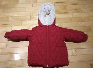 Cute winter coat for girl or boy - size 18-24 month