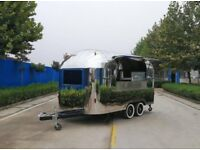 Mobile Catering Trailer Burger Van Pizza Trailer Airstream 4000x2000x2300
