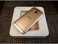 HTC m8 gold boxed unlocked 4g ready