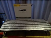Jay-Be Single Foldable Guest Bed bought 4 months back - BRAND NEW condition. Used very rarely