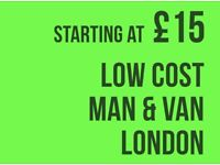 CHEAPEST CHINGFORD Man & Van. Starting £12! Save 80%! UK Govt. approved.