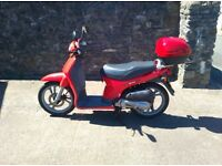 HONDA SH 50 SCOOTER-RED