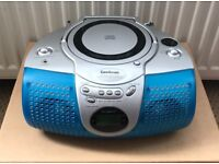 A Compact CD PLAYER WITH RADIO TUNER