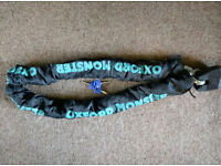 Monster XL bike chain Oxford & lock