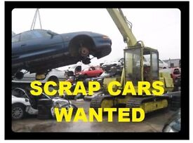 Scrap cars,bikes ,MOT failures, non runners wanted £££