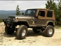 Jeep wrangler yj 93 to 96