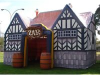 Inflatable pub hire & bouncy castles and Disco Domes