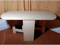 Light Oak Effect Extendable Dining Table