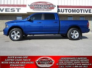 2015 Dodge Ram 1500 CUSTOM SUPER SPORT CREW 4X4, HARD LOADED, DU