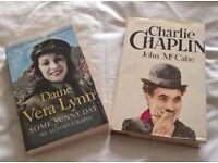 10 books, - 6 auto-biographies & 4 fiction story books - £3 each ono