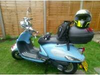Scooter 124cc for sale