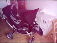 O'Baby Zoom versatile double buggy
