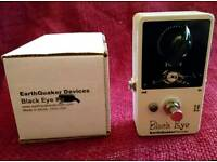 Earthquaker Devices EQD Black Eye Clean Boost Boutique Overdrive Pedal