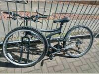2x mountain bikes