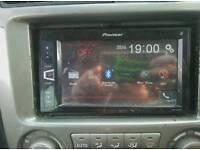 Double din car audio