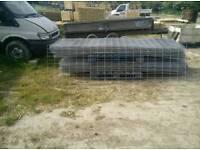 Galvanised steel mesh