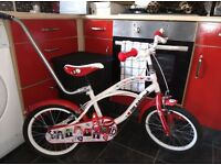 1D,ONE DIRECTION,GIRLS BIKE,5/8YRS,EXCELLENT CONDITION