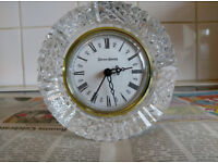 Tyrone crystal clock