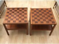 2 X coffee tables